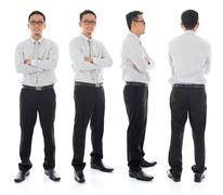 Stock Photo of asian male in different angle