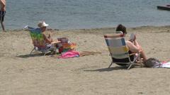 Enjoying Kayaks at the beach (6 of 8) Stock Footage