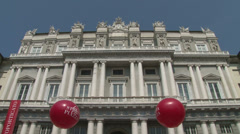 Palazzo Ducale in Genova Stock Footage