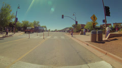 Downtown Sedona Arizona 3726 Stock Footage