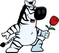 Stock Illustration of Zebra Flower