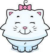 Cat Smiling Stock Illustration