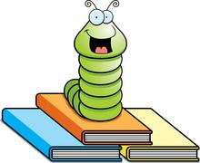 Stock Illustration of Book Worm