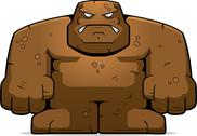Stock Illustration of Mud Golem