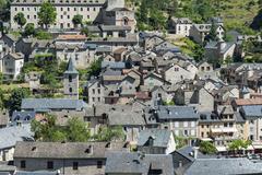 Stock Photo of sainte-enimie, gorges du tarn