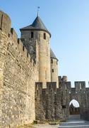 carcassonne (france) - stock photo