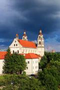 Church of St. Raphael, Vilnius, Lithuania - stock photo