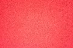 wall of concrete with red coating - stock photo