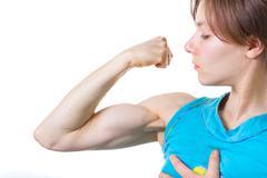 women's power. - stock photo