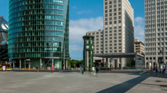 Potsdamer Platz, Berlin Stock Footage