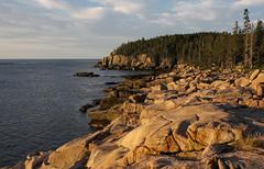 Acadia Coastline Stock Photos