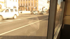 Commuting by public transport Stock Footage