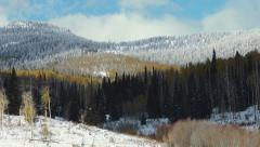Colorado Winter Stock Footage