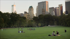 NYC Central Park Stock Footage