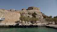Stock Video Footage of spinalonga 2