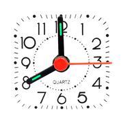Clock showing 8 o'clock Stock Photos