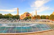 Stock Photo of Hagia sophia, the famous historical building of istanbul. now it's a museum a