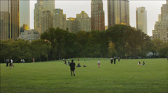 NYC Central Park - stock footage