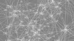 Large internet protocol network Stock Footage