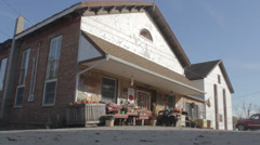 Country Store wide DAY Stock Footage