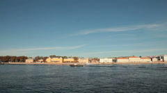 Saint Petersburg Landmarks Stock Footage
