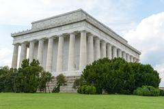 Stock Photo of lincoln memorial building