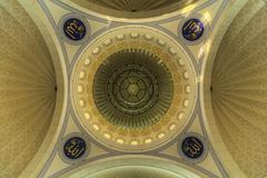 Uncder The Dome | Federal Territory Mosque Stock Photos
