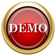 Demo icon Stock Illustration