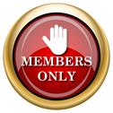 Members only icon Stock Illustration