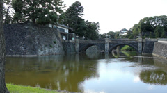 Tokyo Imperial Palace (3) Stock Footage