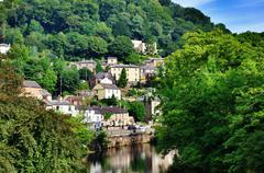 Matlock Bath in Derbyshire Stock Photos