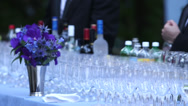 Stock Video Footage of Bar at Event