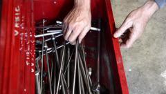 Toolbox Stock Footage
