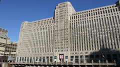 Merchandise Mart - Chicago Stock Footage