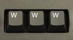 Www Internet Concept On A Computer Keyboard - stock photo