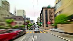 SF City Driving Time Lapse - stock footage