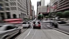 SF City Driving Time Lapse Stock Footage