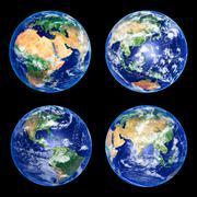 Earth Globes Stock Photos