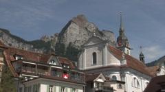 Schwyz, Switzerland Stock Footage