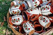 Stock Photo of romanian traditional ceramics 22