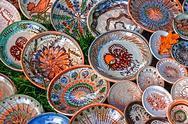Stock Photo of folk pottery 15