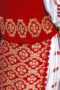 Stock Photo of traditional romanian port of female clothes-1