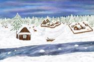 Stock Illustration of winter