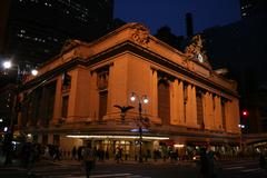 Grand Central Station New York City - Night - stock photo