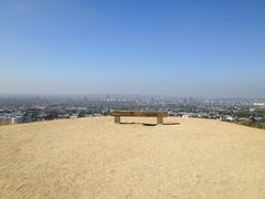 Runyon Canyon - Los Angeles Cityscape Stock Photos
