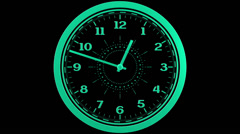 Clock Loop - stock footage