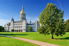 Connecticut state capitol Stock Photos