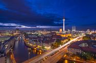 Stock Photo of berlin cityscape