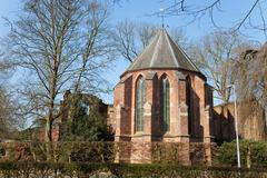 dutch reformed church - stock photo