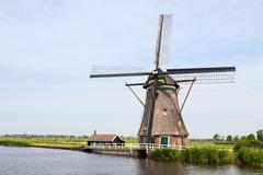 Stock Photo of typical dutch landscape